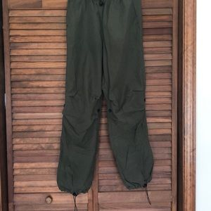 Army Green Express Crew Pants